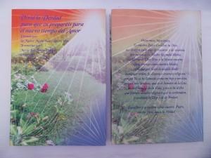 Libro Vivid la Verdad para que os preparéis para el nuevo tiempo del Amor. Dictado por La Madre María de los Altos Cielos.